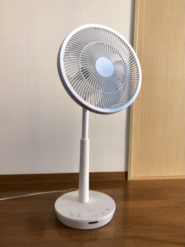 シロカ DC 音声操作サーキュレーター扇風機 ポチ扇 SF-V151