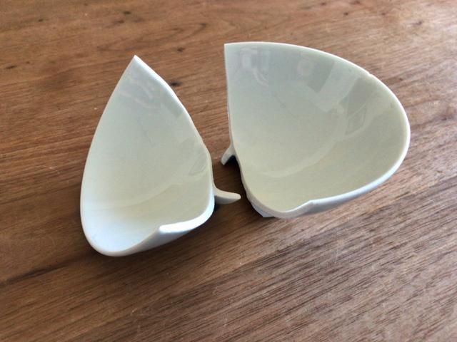 無印良品「白磁めし茶碗」が割れた