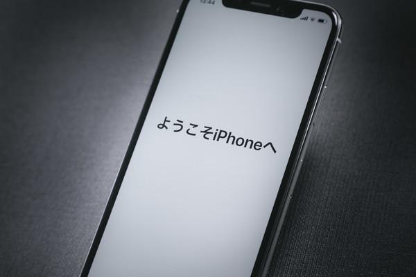 iPhone Xの起動画面