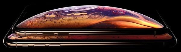 iPhone XS MAXのディスプレイ