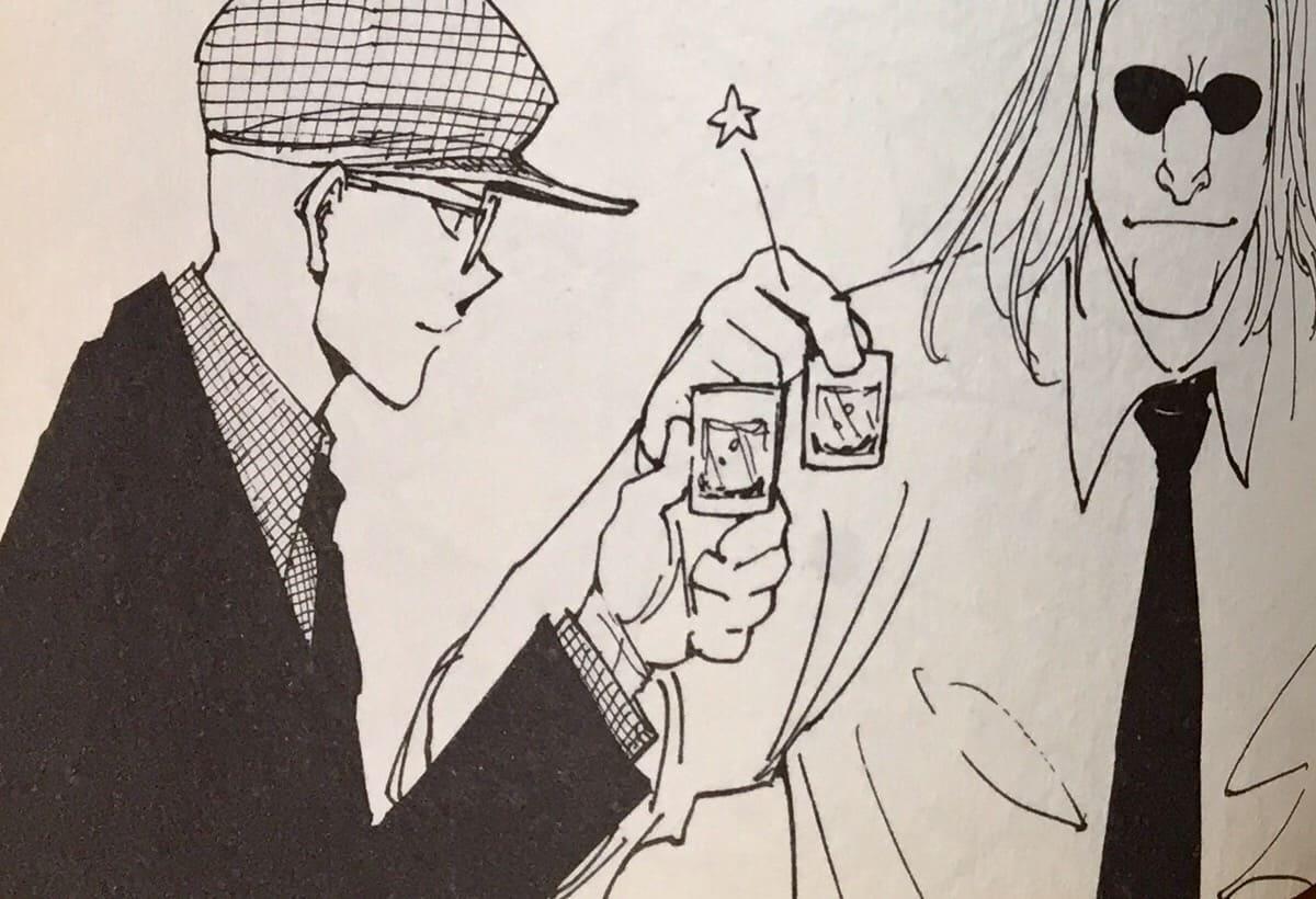 ノヴとモウラの乾杯