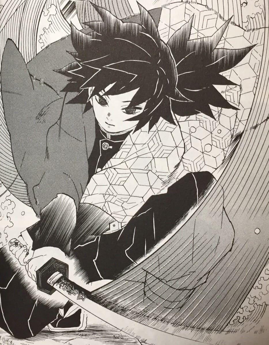 【鬼滅の刃】富岡義勇がかっこいい!凪ってなに?