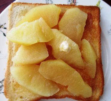煮リンゴのレシピ