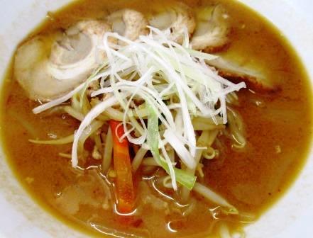 味噌チャシュー麺
