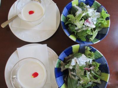 栄黄雅のリンゴカレーセット