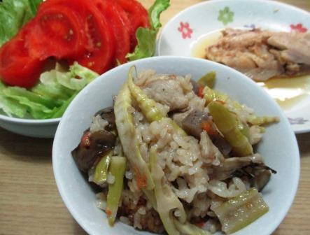 タケノコご飯の作り方