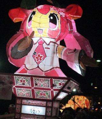 桜ミク・弘前ねぷたまつり