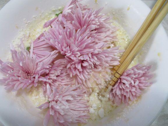食用菊のレシピ