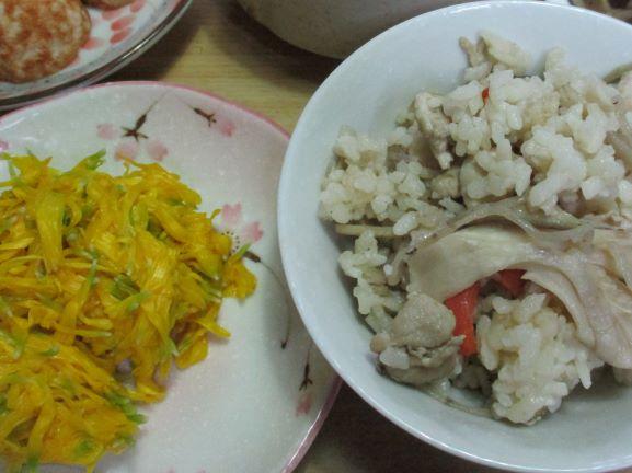 食用菊レシピ