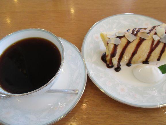 チョコバナナクレープ・成田専蔵珈琲店