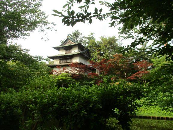 弘前公園の丑寅櫓