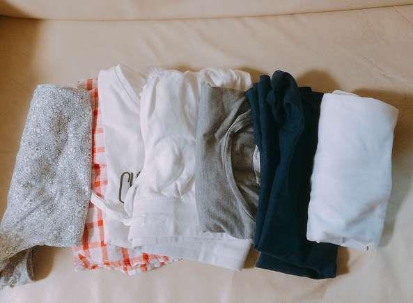 夏服の断捨離