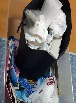 紙袋を断捨離する前