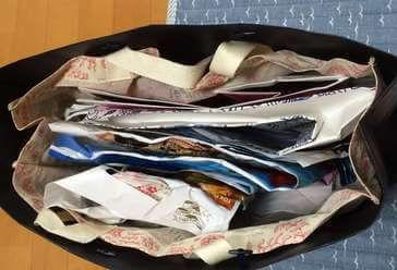 断捨離した紙袋