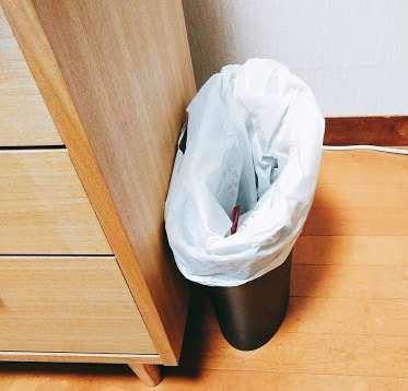 直置きゴミ箱