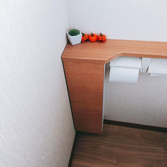 トイレの飾り棚・ハロウィン