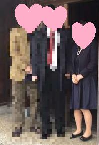 大学卒業式の母親の服装