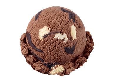 チョコレートチョコレートチップチーズケーキ