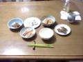 今日の夜ご飯(2013/11/09)