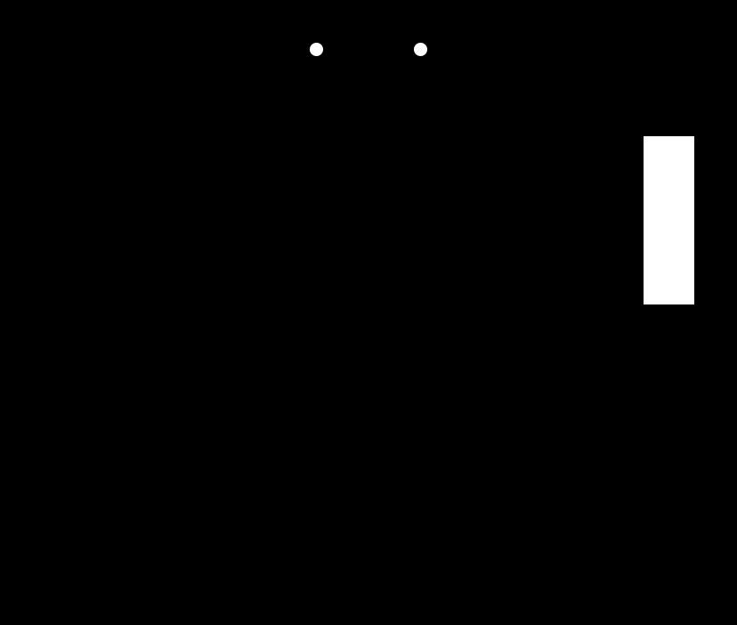 スイッチOFF時は絶縁抵抗があるとする回路図