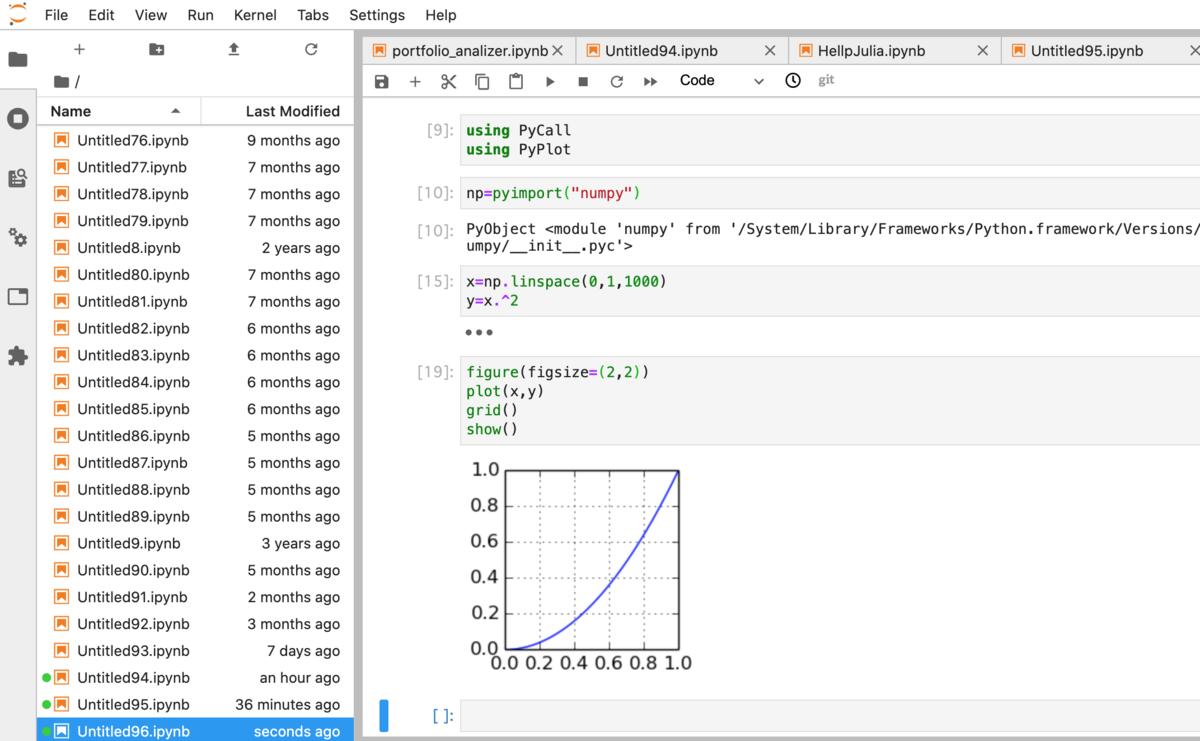 matplotlibを使ってグラフを描画