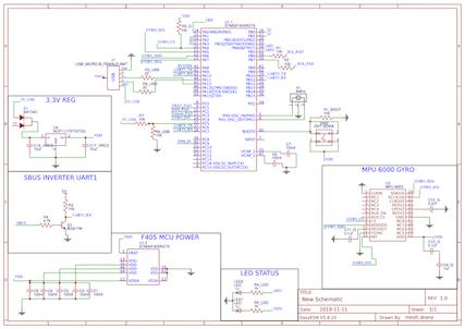 参考にするフラコンの回路図