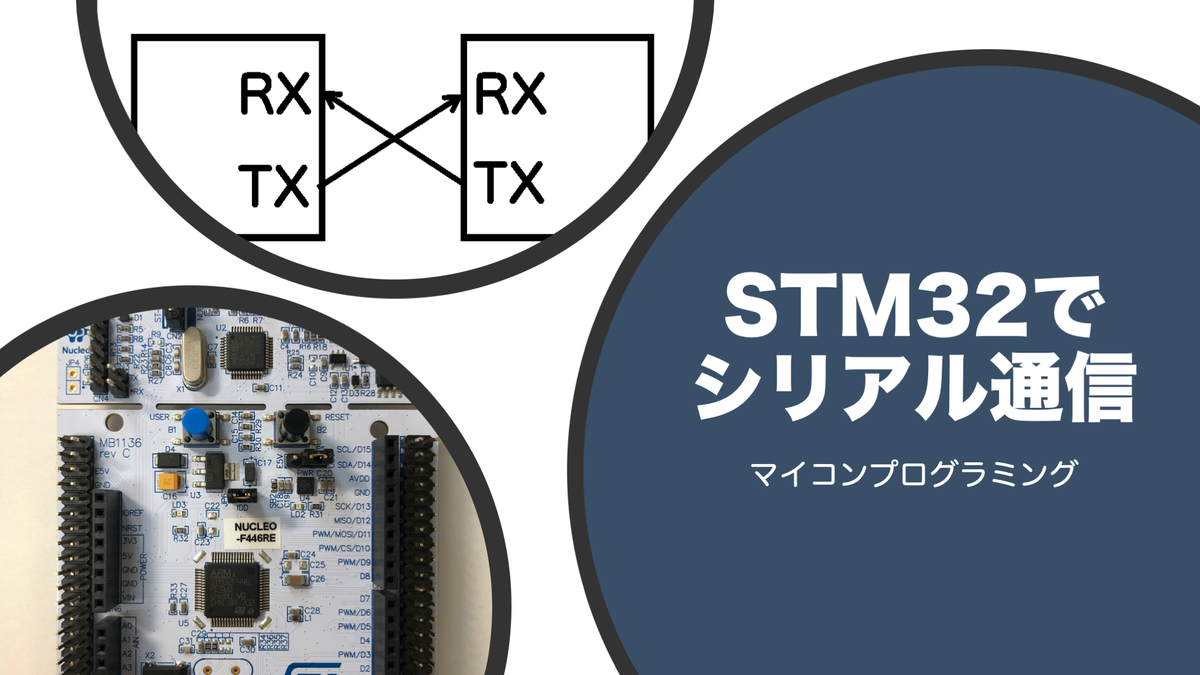 STM32でシリアル通信