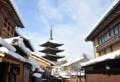 「京都新聞写真コンテスト」古都の雪化粧