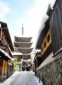 「京都新聞写真コンテスト」雪の坂道