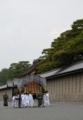 京都新聞写真コンテスト 牛車が進む