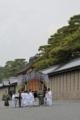 京都新聞写真コンテスト 牛車が進む京都新聞写真コンテスト 牛車が