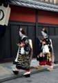京都新聞写真コンテスト 笑顔で挨拶