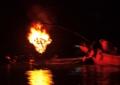 京都新聞写真コンテスト 川面を踊る