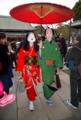 京都新聞写真コンテスト 仮装した芸妓さん