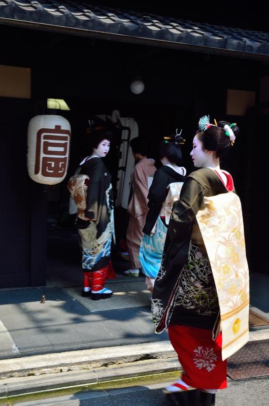 京都新聞写真コンテスト 花街の伝統行事