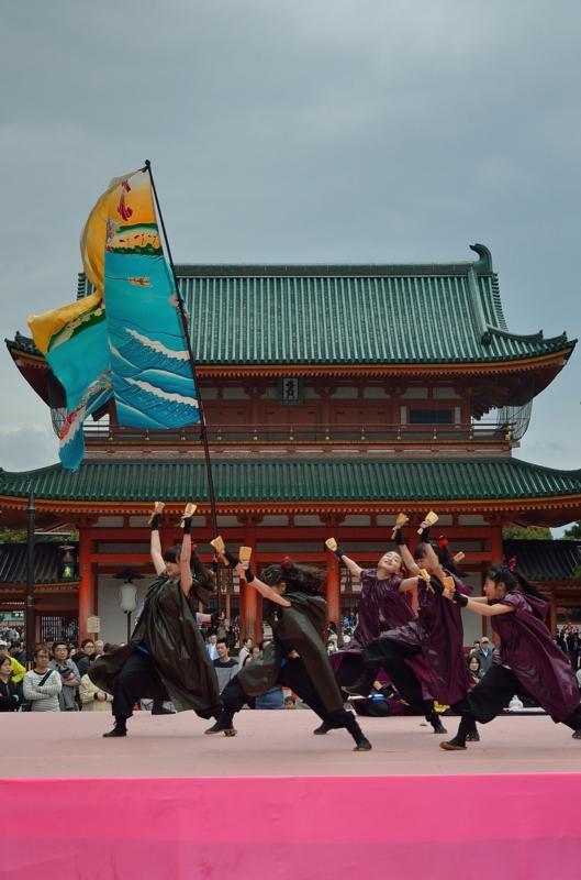 京都新聞写真コンテスト 勇壮なステージ