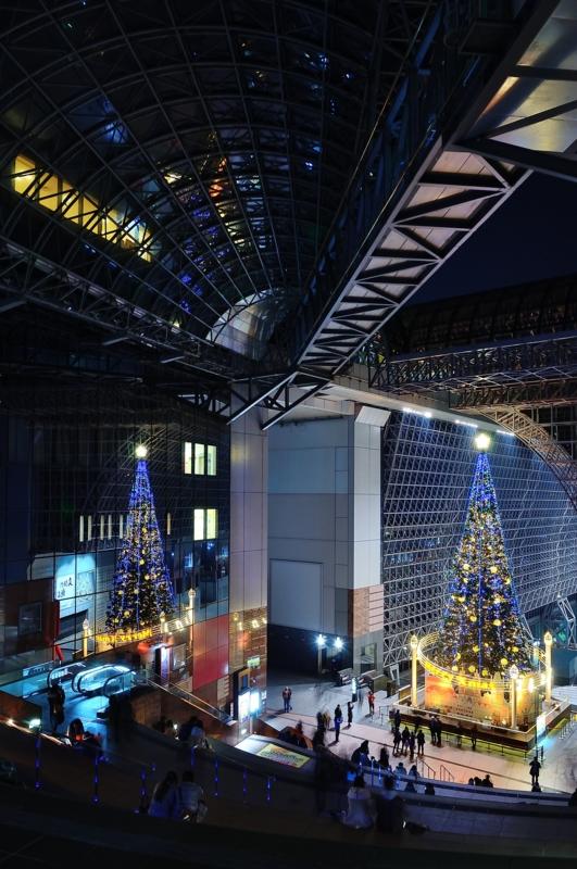 京都新聞写真コンテスト クリスマスイルミネーション2