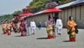 京都新聞写真コンテスト 華やかな行列