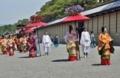 京都新聞写真コンテスト 鮮やかな行列