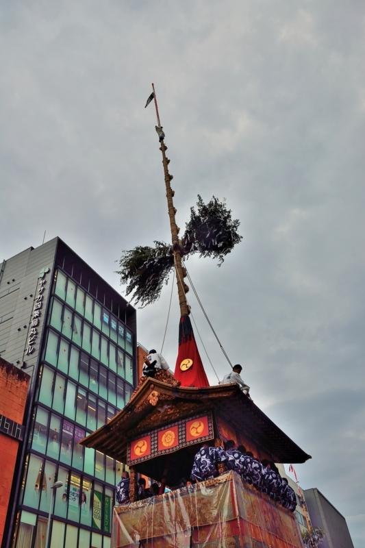 京都市新聞写真コンテスト 鉾そろり