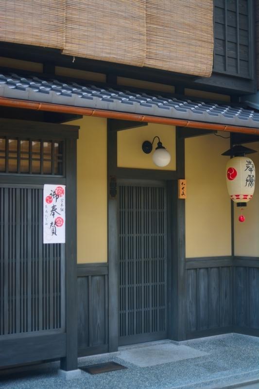 京都新聞写真コンテスト 古都の町家