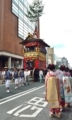 京都新聞写真コンテスト 都大路を進む