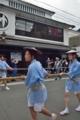 京都新聞写真コンテスト 綱を引く