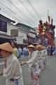 京都新聞写真コンテスト 鉾が動く
