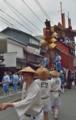 京都新聞写真コンテスト 船鉾が進む