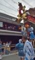 京都新聞写真コンテスト 祭を見守る