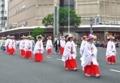 京都新聞写真コンテスト 花傘娘