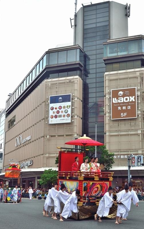 京都新聞写真コンテスト 花傘行列