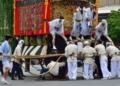 京都新聞写真コンテスト 音頭取りの声