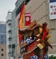 京都新聞写真コンテスト 舟鉾が進む